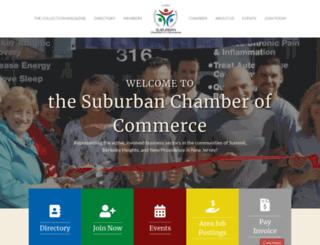 business.suburbanchambers.org screenshot