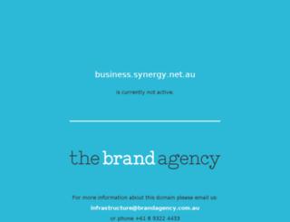 business.synergy.net.au screenshot