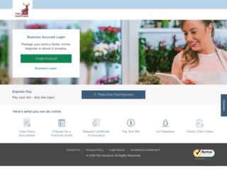 business.thehartford.com screenshot