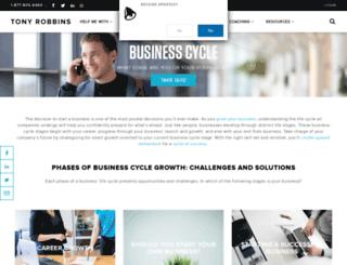 business.tonyrobbins.com screenshot