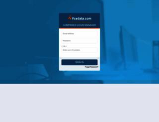 business.vcsdata.com screenshot