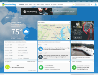 business.weatherbug.com screenshot