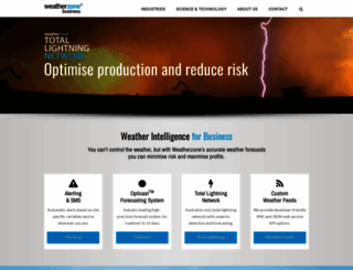 business.weatherzone.com.au screenshot