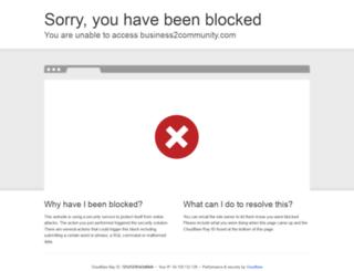 business2community.com screenshot