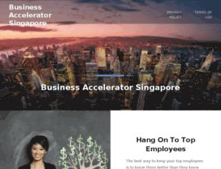 businessacceleratorsingapore.com screenshot