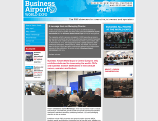 businessairportworldexpo.com screenshot