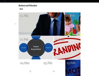 businessandeducation.edublogs.org screenshot