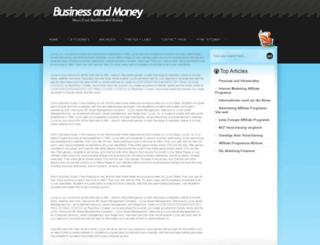 businessandmoney.ch screenshot