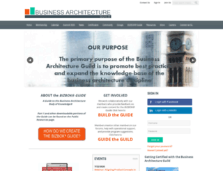 businessarchitectureguild.site-ym.com screenshot