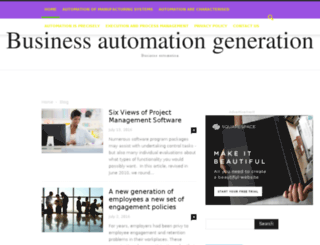 businessautomationgeneration.com screenshot