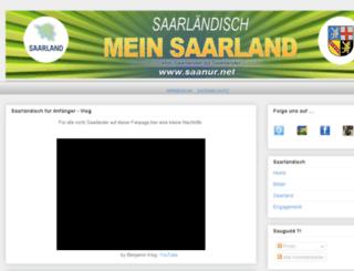 businessbranche-saar.de screenshot