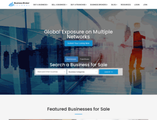 businessbrokerjournal.com screenshot