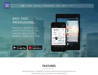 businesscalendar.de screenshot