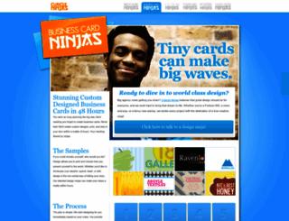 businesscardninjas.com screenshot