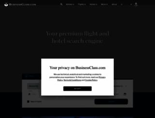 businessclass.co.uk screenshot