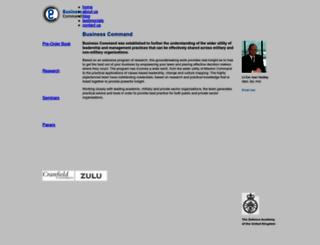 businesscommand.co.uk screenshot