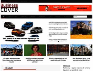 businesscover.ro screenshot