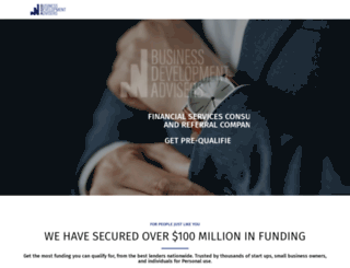 businessdevelopmentadvisers.com screenshot