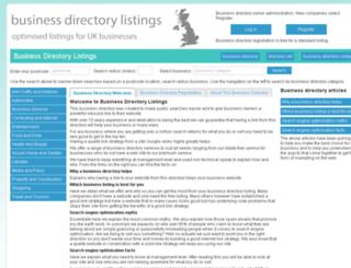 businessdirectorylistings.co.uk screenshot