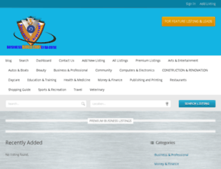 businessdirectorysyracuse.com screenshot