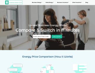 businessenergyshop.com screenshot