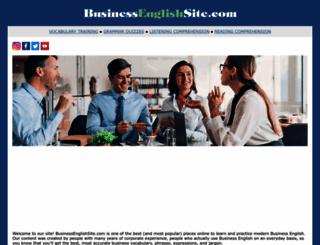 businessenglishsite.com screenshot