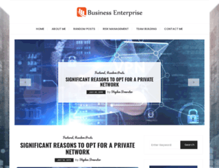 businessenterprise.ca screenshot