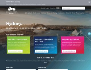 businesseventssydney.com.au screenshot