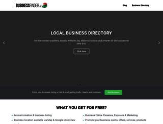 businessfinder.ae screenshot