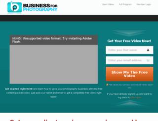 businessforphotography.com screenshot