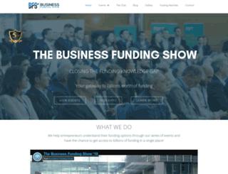 businessfundingshow.com screenshot