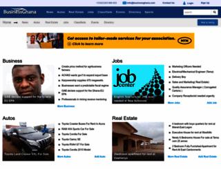 businessghana.com screenshot