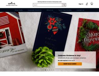 businessgreetings.com screenshot