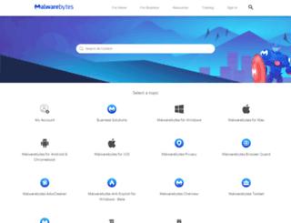businesshelp.malwarebytes.org screenshot