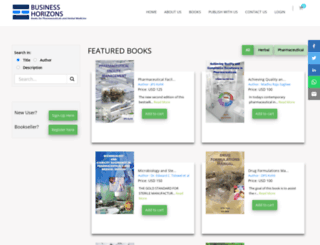 businesshorizons.com screenshot