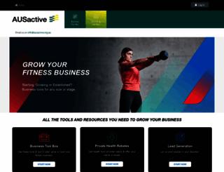 businesshub.fitness.org.au screenshot