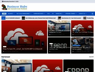 businesshubs.org screenshot