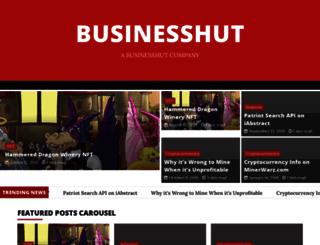 businesshut.com screenshot