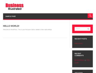 businessillustrated.com screenshot