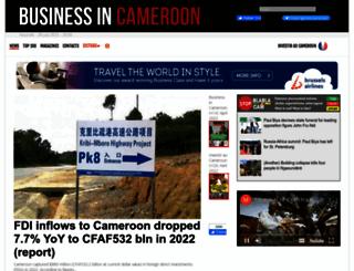 businessincameroon.com screenshot
