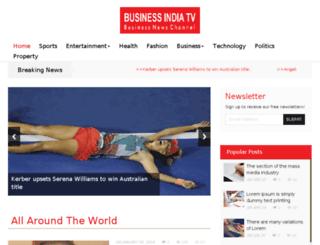 businessindiatv.com screenshot