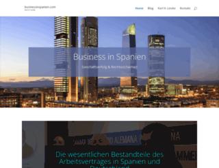 businessinspanien.com screenshot