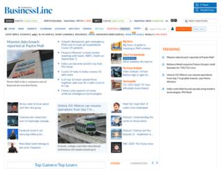 businessline.in screenshot