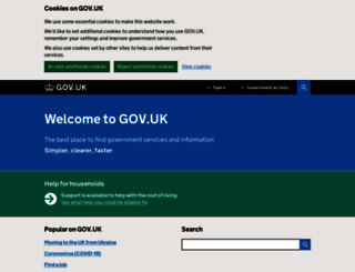 businesslink.gov.uk screenshot