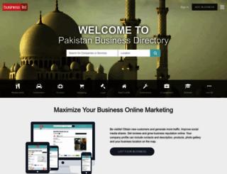 businesslist.pk screenshot
