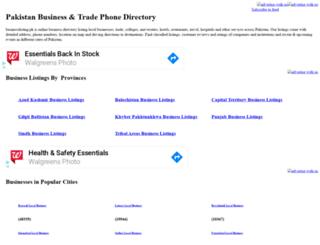businesslisting.pk screenshot