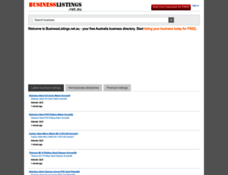 businesslistings.net.au screenshot