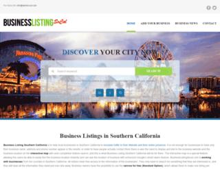 businesslistingsocal.com screenshot