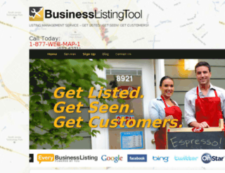 businesslistingtool.com screenshot