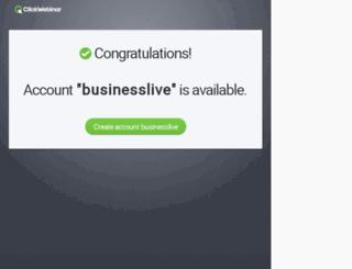 businesslive.clickwebinar.com screenshot
